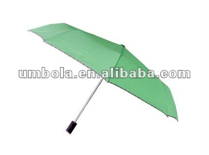 New Arrival 3 Fold Promotion LED Umbrella