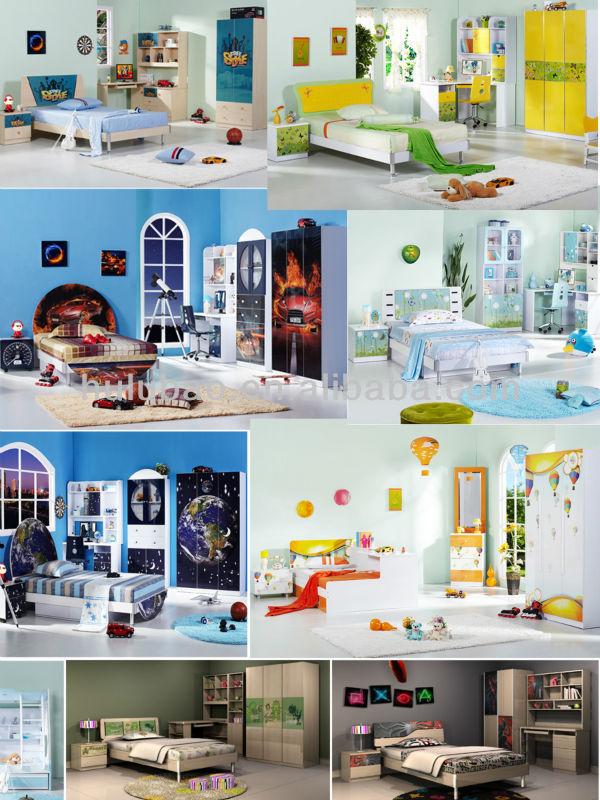 Discount Kids Furniturechildrens Bedroom Wardrobebedcomputer Desknightstandchair Buy