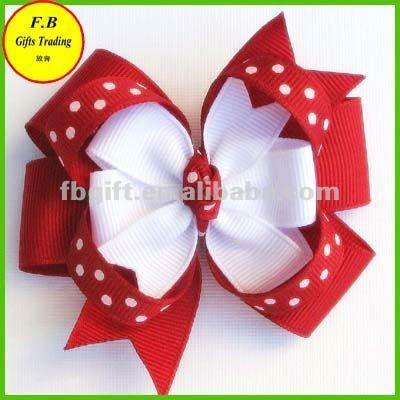 Polka dots adornos para el cabello para niñas/niños accesorio para pelo (FB011626)