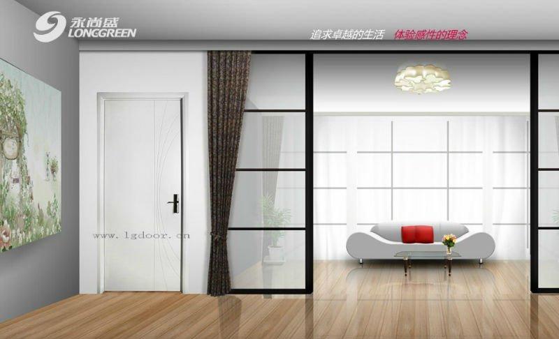 High quality hot sale wpc simple bedroom door designs for Bedroom door designs