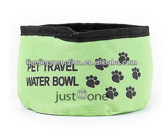cheap foldable dog travel bowl