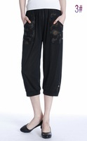 Женские шорты In 2013 the new south Korean version of pants big yards of fashionable women's casual pants loose shorts plus size sequin shorts