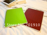 Чехол для планшета PU leather case High Quality PU smart cover back case for ipad 2 C-115 on sale