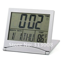 Настольные часы Digital LCD Alarm Desk Clock Calendar Thermometer #2476