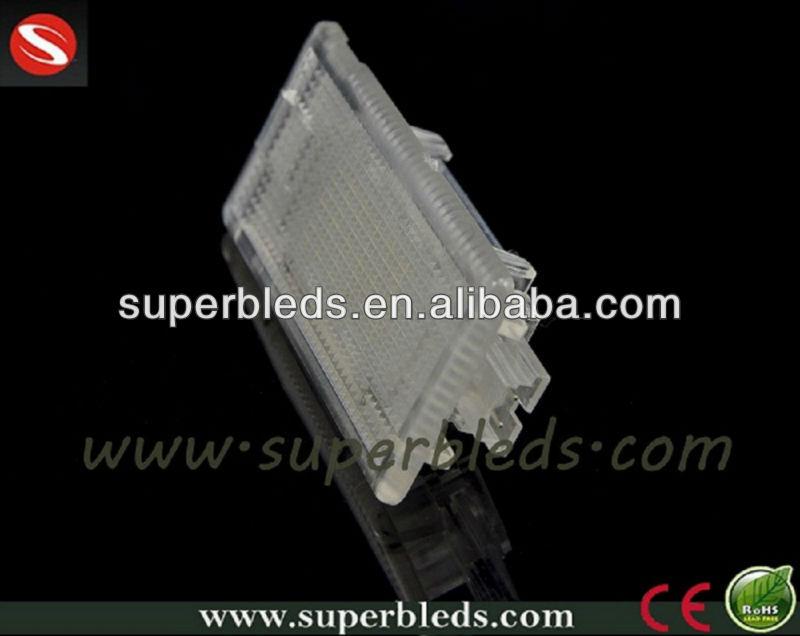 super bright auto 12V 18smd led license plate lights for car accessory