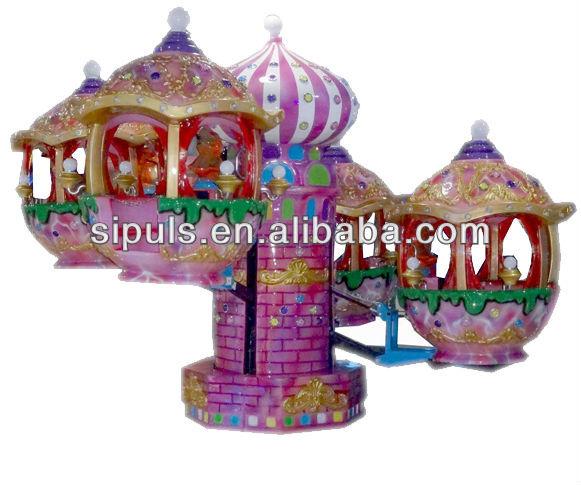 Indoor Children Amusement Carousel Swing Game Machine