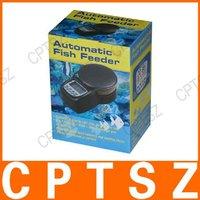 """Товары для домашних питомцев 1.7"""" LCD Automatic Aquarium Fish Feeder"""