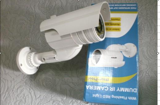 Dummy CCTV Camera With Blinking IR LED Fake Bullet Camera Waterproof Emulational Security Camera fake camera model