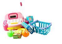 MINI 42* 20*18CM Children's play house ABS toys Intelligent Simulation supermarket cash register