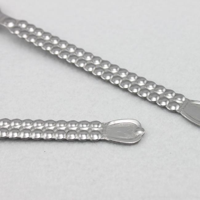 Stainless steel custom engraved forks