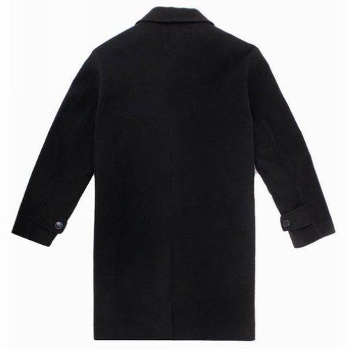 2015 Winter Famous Brand Wool Coat Mens Long Trench Coat Jacket ...