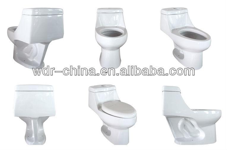 Siphonic Bathroom One Piece Toilet WC Toilet