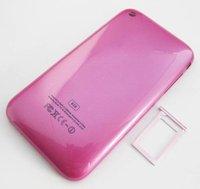 Чехол для для мобильных телефонов 1PCS Back Housing Cover Case+sim tray For iPhone 3G 8GB/16GB C1013