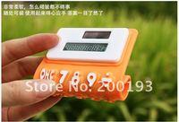 FREE SHIPPING 1piece  8 digits solar calculator Silica gel soft keyboard