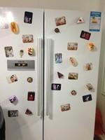 cheap American pastoral style originality refrigerator magnet wine bottle refrigerator