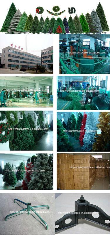 pvc artificial apple christmas garland