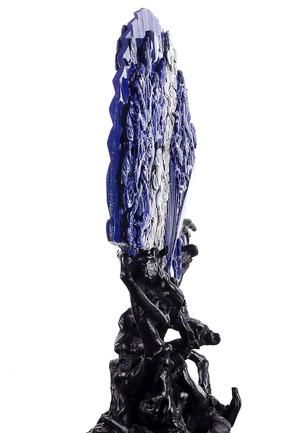 crystal lapis lazuli van carving