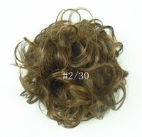 Fashion Woman Curly Hair Bun  Hairpieces ChignonQ7 50Pcs/Lot Free Shipping