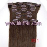 Волосы для наращивания 20'Clip 8pcs Human Hair Extension #01