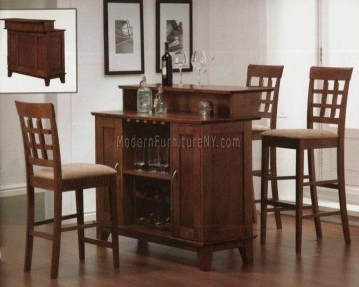 Moderna de madera barra de bar en casa mesas de bar - Barras de bar para casas ...