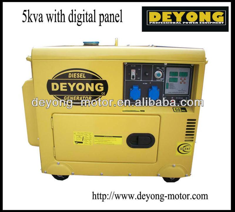 5kva silent diesel generator price
