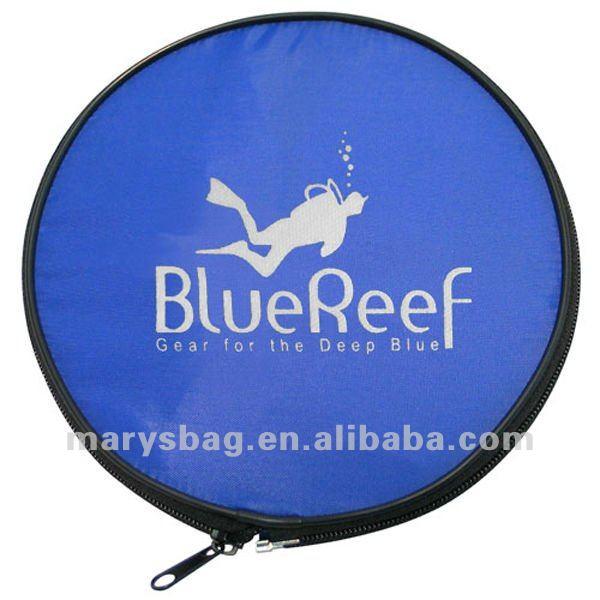 Blue Reef Frisbee Foldable Mesh Duffel Bag