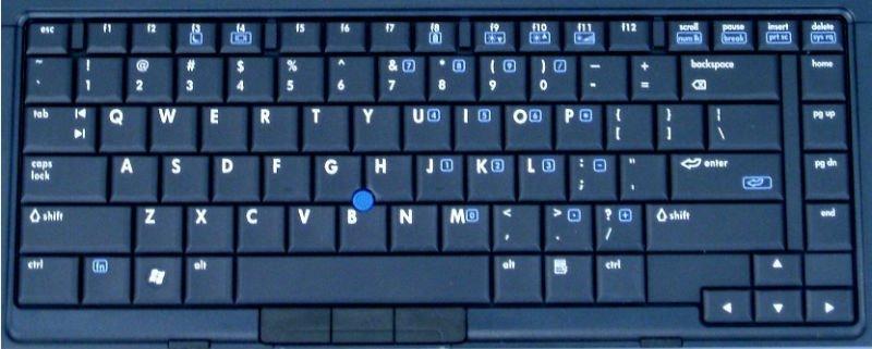 azul de cerámica del teclado de computadora-Teclados ...