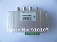 4channel пассивный приемопередатчик видео для камеры + dvr, использование витой пары cat5 кабель для передачи видео, ds-up041d