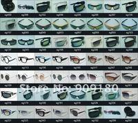 Designer Fashion Plain Clear Lenses Black Glasses Men's Women's Retro Vintage EyeGlasses Frames New Free Shipping Wholesale 128
