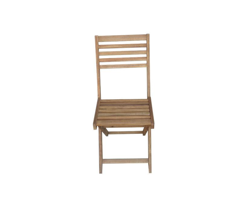 En plein air chaise pliante en bois acacia huil - Chaise en bois pliante ...