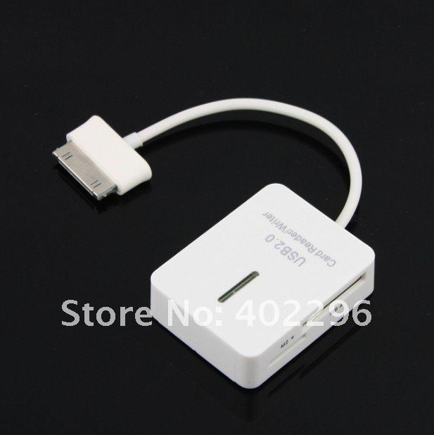 Free shipping 5 in 1 Connection Kit & Card Reader Hub for SAMSUNG GALAXY TAB 10.1 P7500 P7510