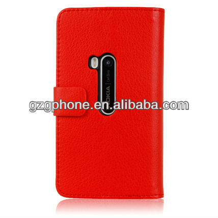 cellphone wallet Case,for nokia 920 leather case