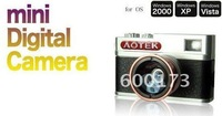 AOTEK mini retro DV Digital camera 5MP video Camera 70 degree viewing angle webcam
