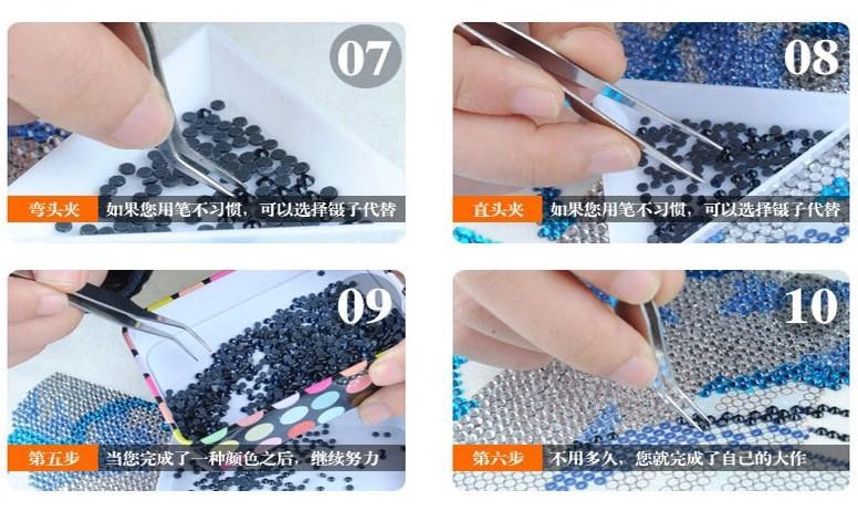 3d бриллиант вышивка 5d бриллиант diy картина крестом blue sky