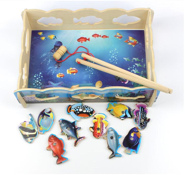 игрушки  со магнитами интересах рыбалки