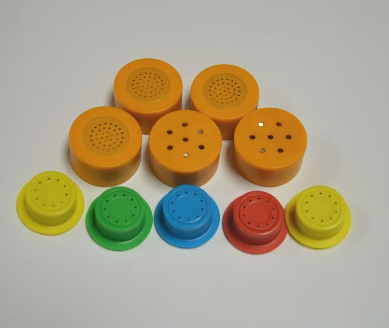 Sound button for plush toy