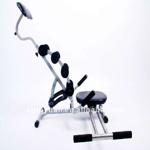 Gym equipment AB exerciser spin black power