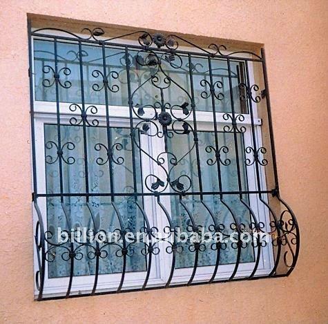 Decorative Wrought Iron Windows Guards - Buy Wrought Iron Windows