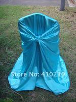 бирюзовый синий стул Универсальный чехол для свадебного банкета partyel