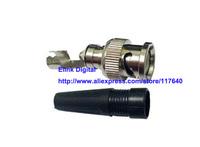 Аксессуары для видеонаблюдения 30PCS/High Quality CCTV RG59 BNC Male Connector Adapter to Coaxial Cable New
