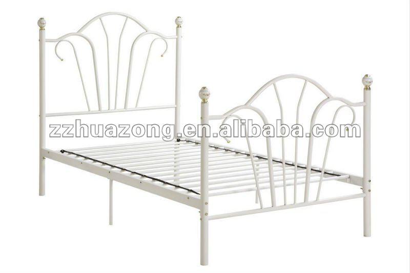 moderne blanc acier m tal style princesse filles enfants. Black Bedroom Furniture Sets. Home Design Ideas
