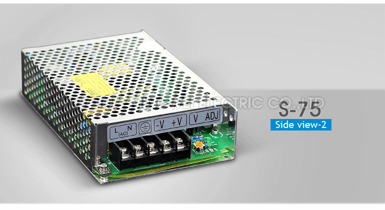 S-75-24 CE Certificate Single Output Switching Power Supply Converter 75W LED power supply