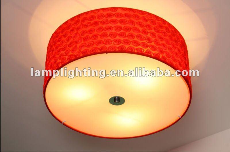 romantico speciale design paralume in tessuto soffitto luce-Luce a soffitto-I...