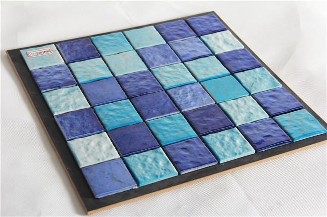 Zwembad tegels blauw moza ek keramische en goedkope interieur moza ektegels moza eken product id - Zwembad kleur liner ...