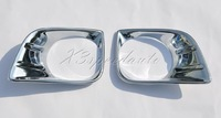 Хромовые накладки ABS Chromed Front Fog light Cover Trim For Toyota Land Cruiser Prado FJ150 2010-2011