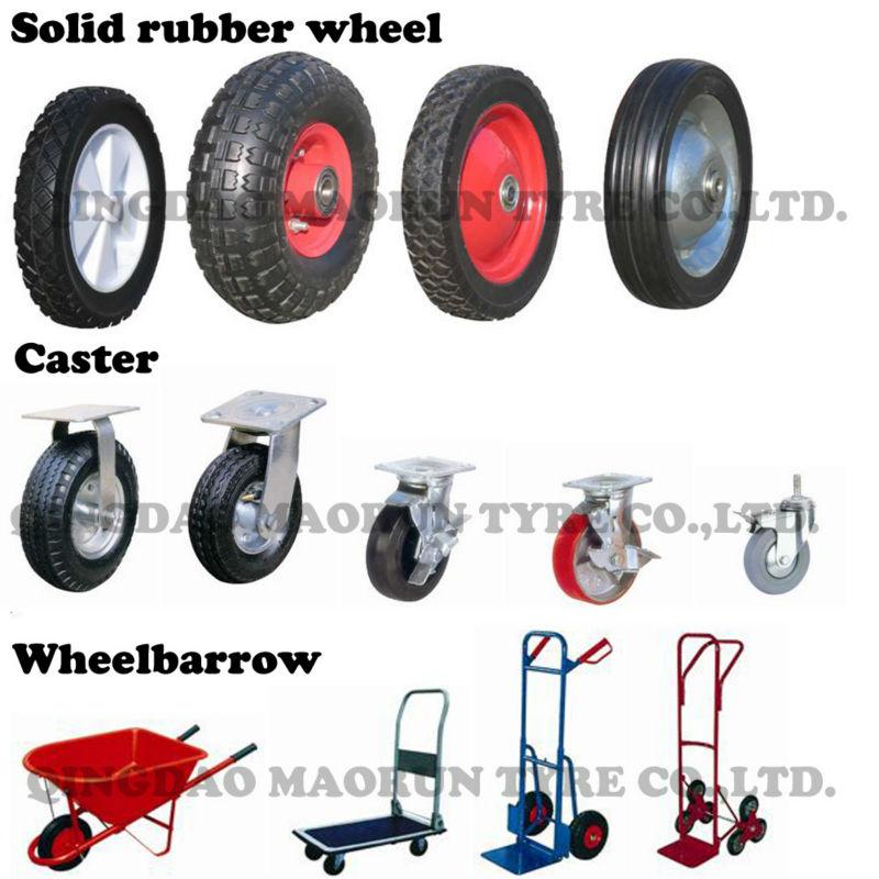 pu foam solid wheel