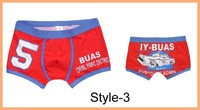 Мужские боксеры Fashion men' underwear/ New arrival men's sexy boxers/Cartoon Men Underwear Mix order Size L XL