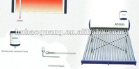 2012 New style, 24Tubes, 200L,  Non-pressured Solar Water Heaters