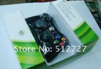 Free shipping for xbox360 wireless controller game pad for xbox 360 joystick  black