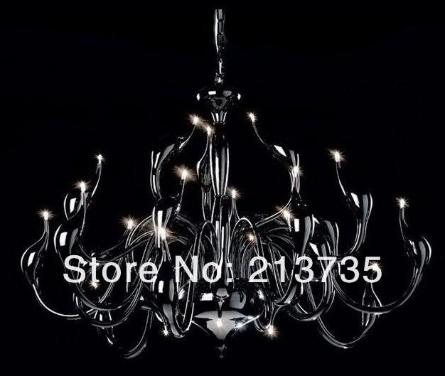 Купить Fedex бесплатная доставка 36 фары лебедь шею металлические кулон светильник, Современное освещение столовая лампа люстра из светодиодов